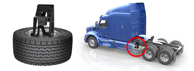 Semi Truck Tires Near Me >> Superspare Semi Truck Tire Carrier Stemco