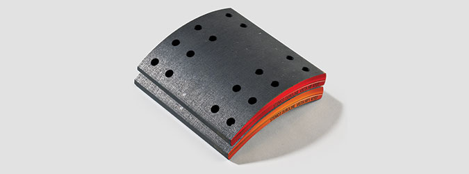 Vista HP high-performance brake linings